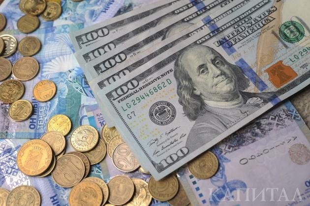 Курс держится возле отметки 340тенге задоллар