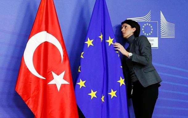ЕСотказался финансировать вступление Турции вобъединение