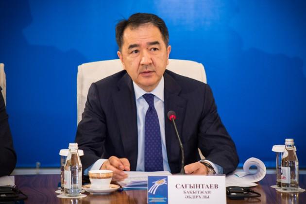 Бакытжан Сагинтаев: Кроме цели снизить потери, Казахстан ничего непреследует