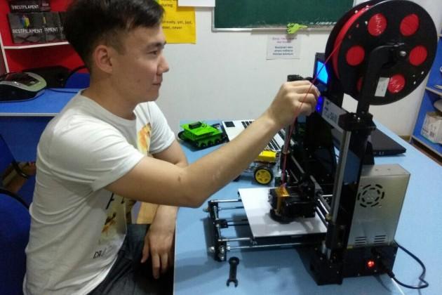 ВШымкенте открылась школа робототехники