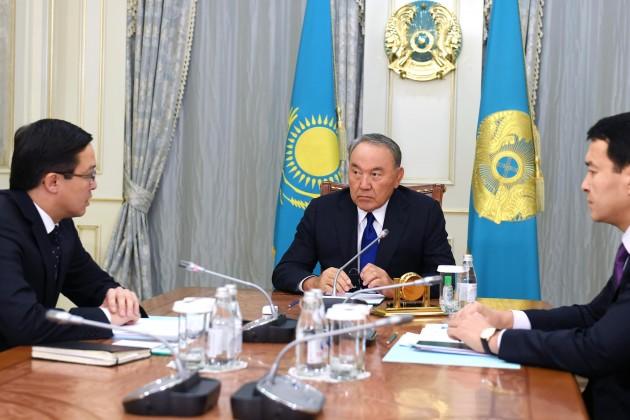 Президент провел встречу сглавой Нацбанка