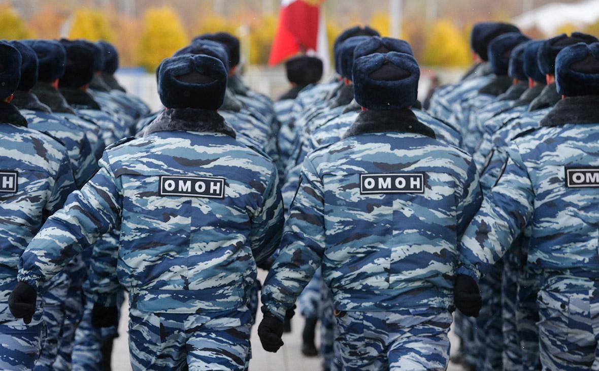 В Росгвардии заявили о нехватке денег на перевод ОМОНа на военную службу