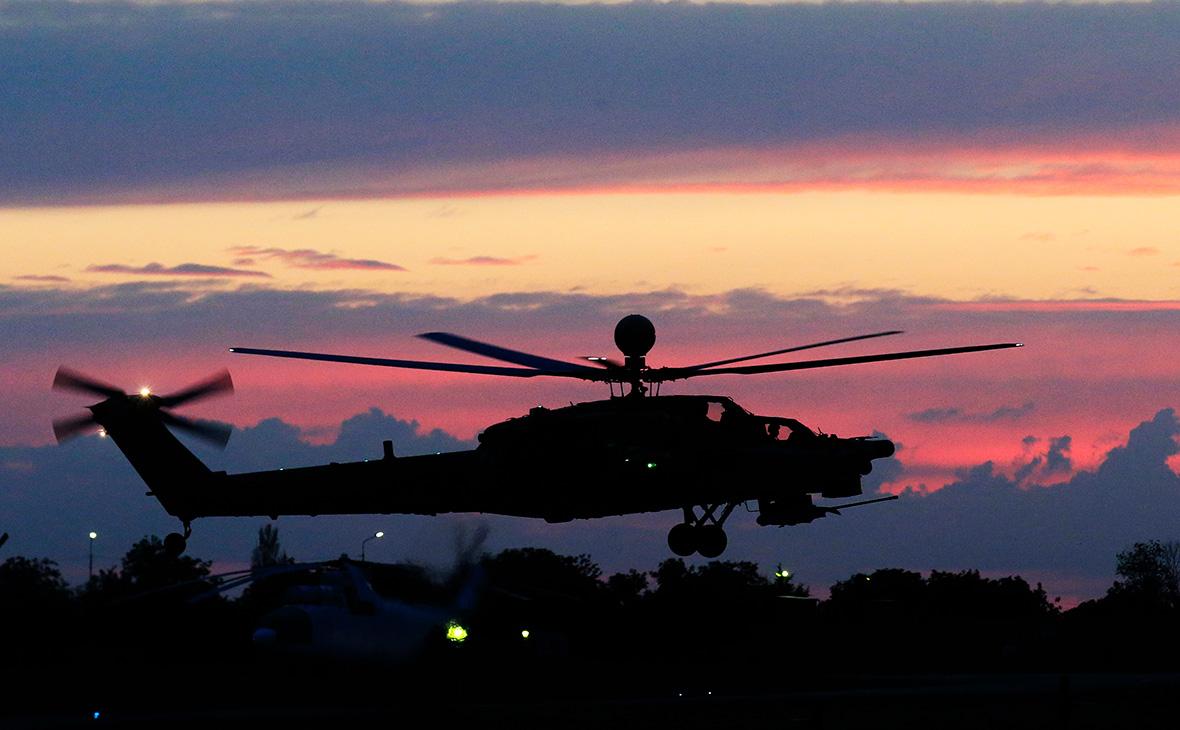 В Норвегии упал российский вертолет