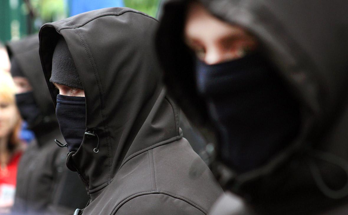 В Одессе группа неизвестных попыталась захватить военную часть