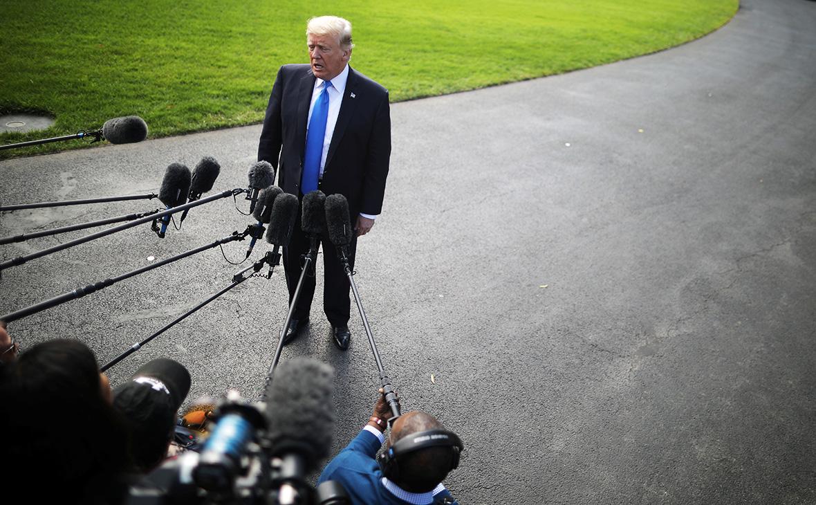 Трамп прокомментировал предъявление обвинений экс-главе своего штаба