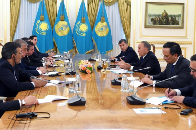 Нурсултан Назарбаев: Ваша работа вфокусе внимания всего мира
