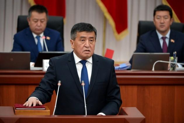 Новый президент Кыргызстана вступил вдолжность