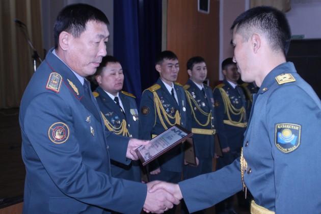 ВАлматы выбрали лучших офицеров НацгвардииРК