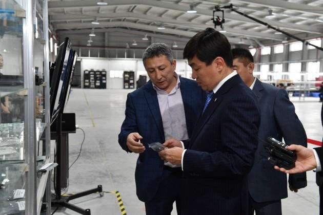 Бауыржан Байбек проинспектировал строительство Индустриальной зоны
