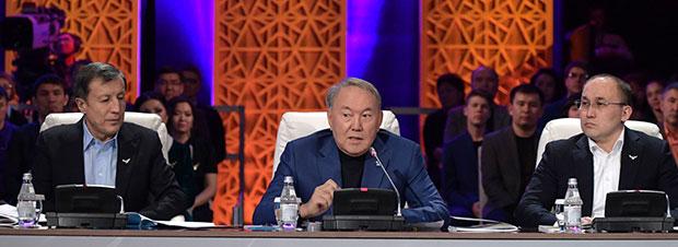 Президент встретился сучастниками проекта «100новых лиц Казахстана»
