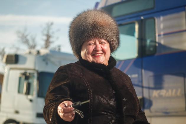 Валентина Еременко: Вгрузоперевозках выходных небывает
