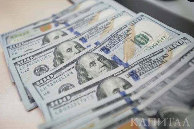 Наутренней сессии доллар торговался по332тенге