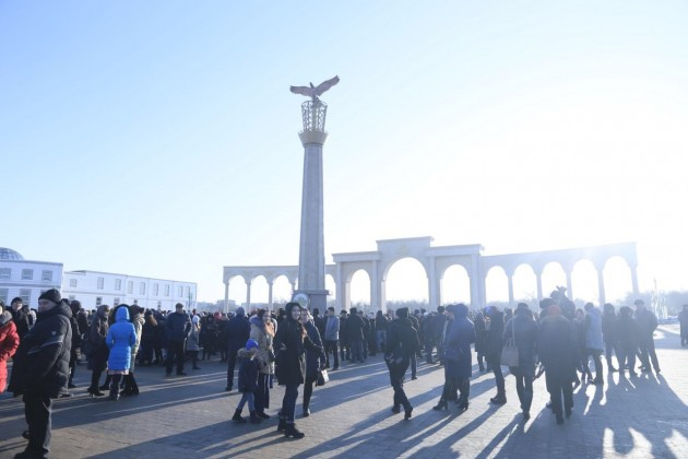 ВАктобе появилась стела благодарности казахскому народу