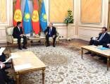 Сооранбай Жээнбеков пригласил Нурсултана Назарбаева посетить Бишкек