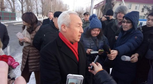 Сейтказы Матаев вышел насвободу