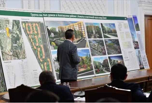 Градсовет Алматы утвердил строительство новых жилых комплексов