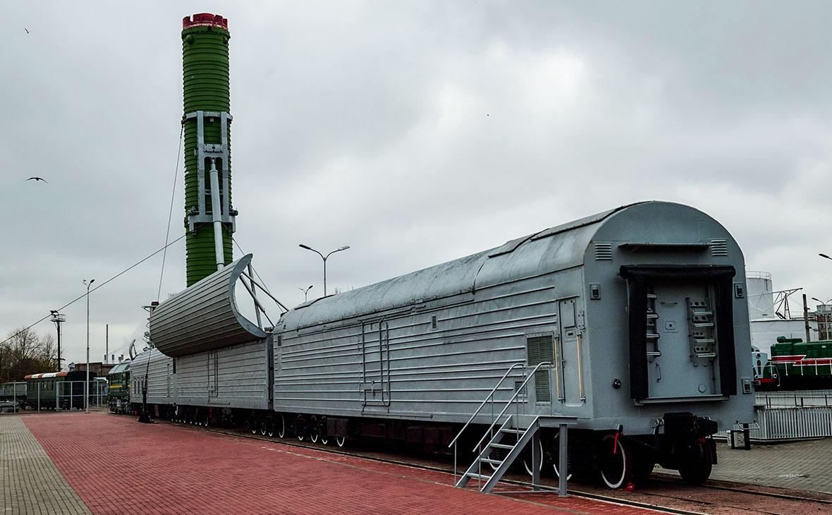 СМИ сообщили о прекращении работы над созданием «ядерного поезда»