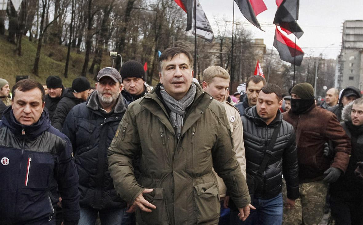 Саакашвили обвинили в попытке госпереворота на Украине