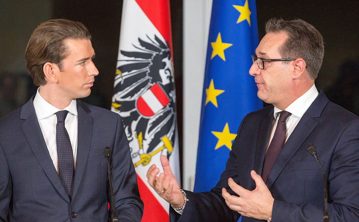 Новое правительство Австрии выступило за смягчение антироссийских санкций