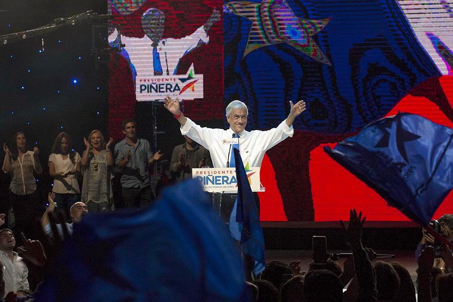 Экс-глава Чили Пиньера выиграл выборы президента