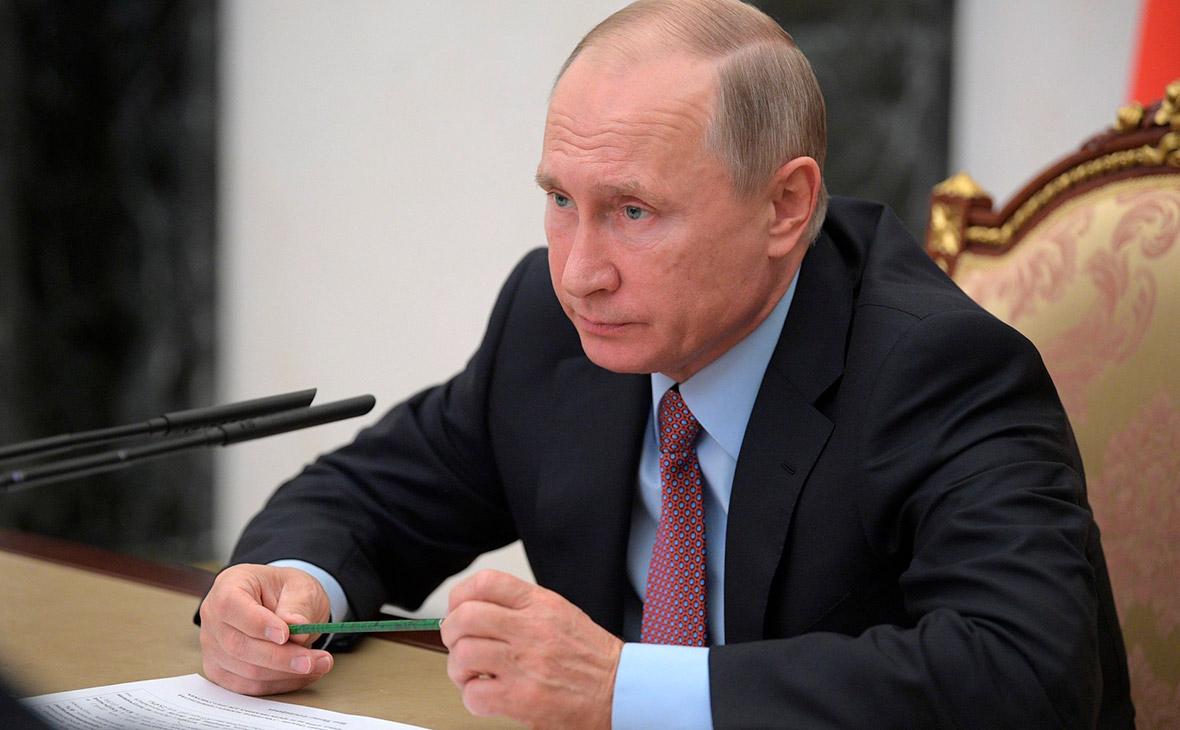 Путин подписал закон о пожизненном сроке для вербовщиков террористов
