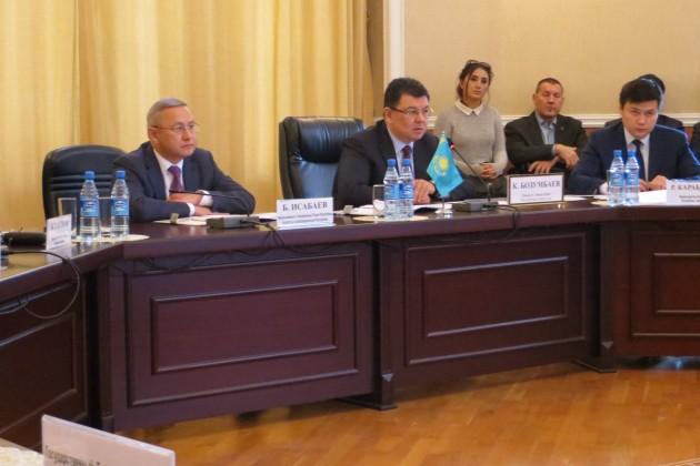 Казахстан иАзербайджан приняли «Дорожную карту» порасширению сотрудничества
