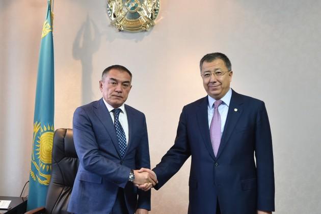 Алипбек Усербаев стал первым заместителем акима ЮКО