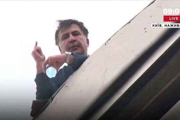 Михаила Саакашвили задержали вКиеве