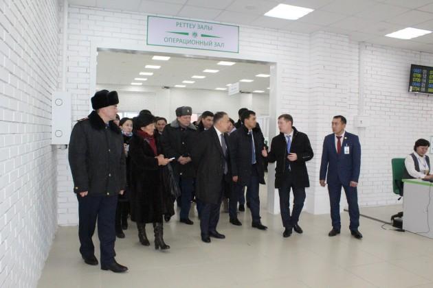 ВКокшетау открыли спецЦОН