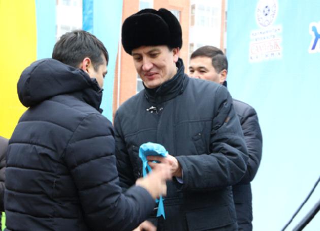 ВКызылорде состоялось торжественное вручение ключей отновых квартир