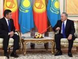 Нурсултан Назарбаев: Между Кыргызстаном иКазахстаном нет нерешаемых проблем