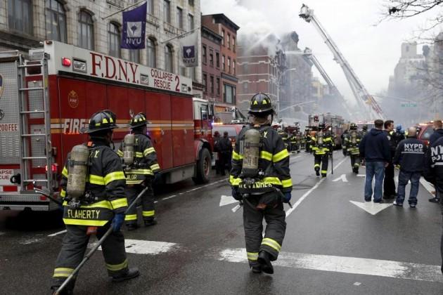 Врезультате пожара вНью-Йорке погибло 12человек
