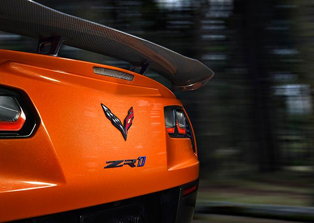 Чем удивил Chevrolet Corvette ZR1в Дубай?