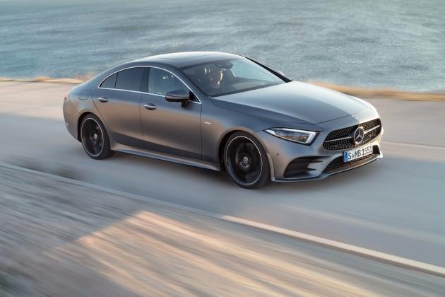 64оттенка Mercedes-Benz CLS